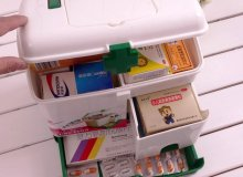 How to safely store medications at home?
