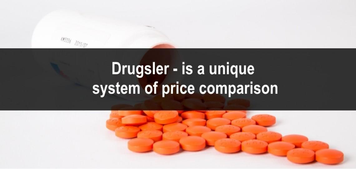 Drugsler - is a unique system of price comparison